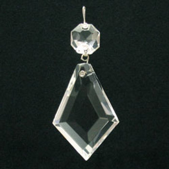 Kit crystal prism with octagon jewel head