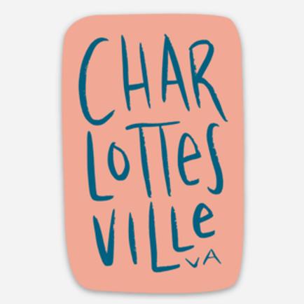 Stacked Charlottesville, VA Sticker