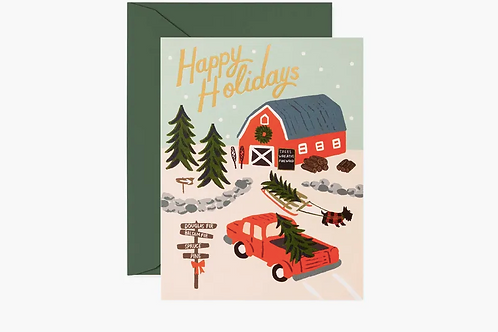 Rifle Paper Co.   Holiday Tree Farm