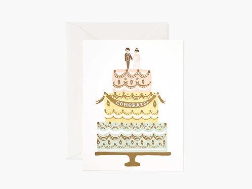 Congrats Wedding Cake
