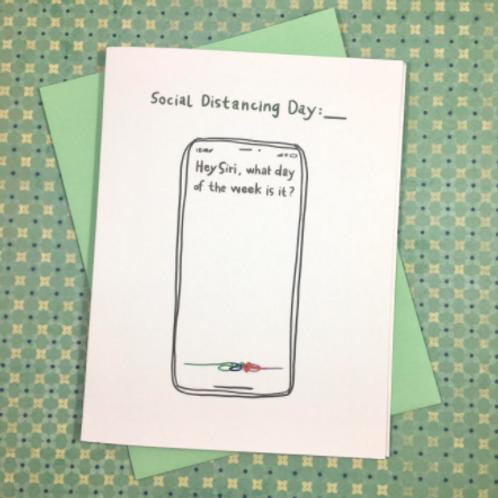 Social Distancing Siri