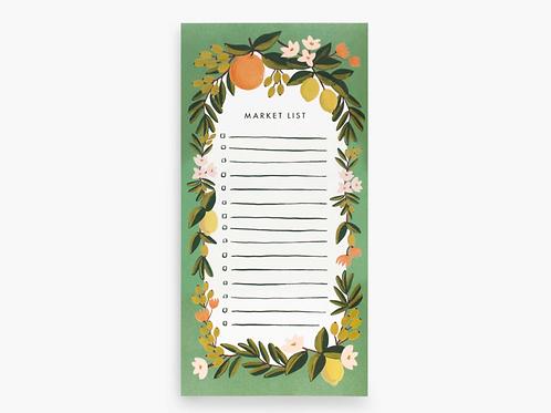 Rifle Paper Co. | Citrus Floral Market List