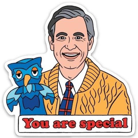 Mister Rogers Sticker