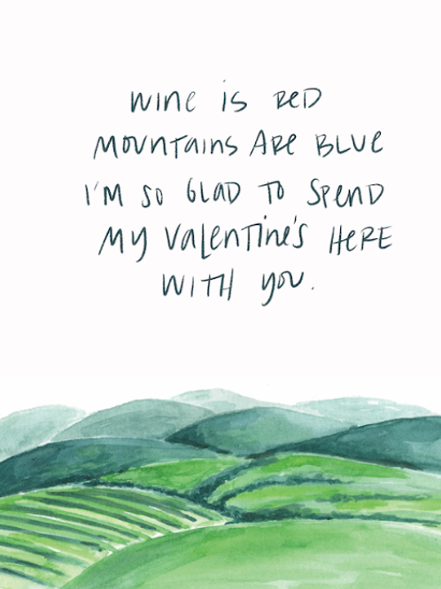 RPS   Wine Is Red, Mountains Are Blue