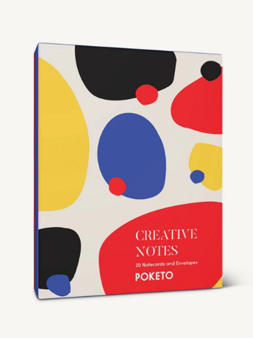 Creative Notes Notecard Set by Poketo for Chronicle Books
