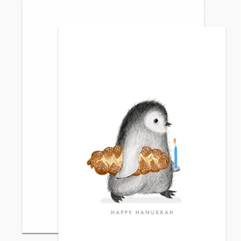 Dear Hancock Hanukkah Penguin Holiday Cards