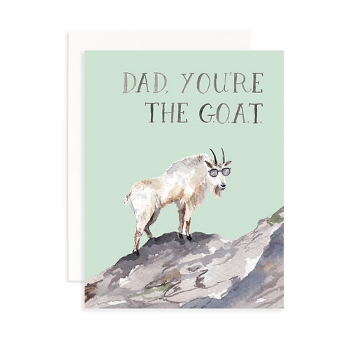 Dad, You're The Goat