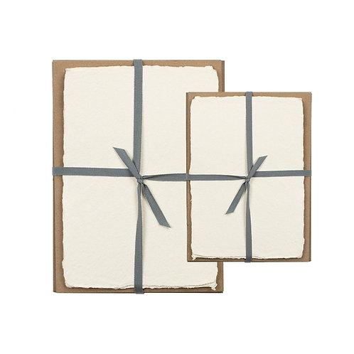 Oblation | Deckled Edge Stationery Set, Cream