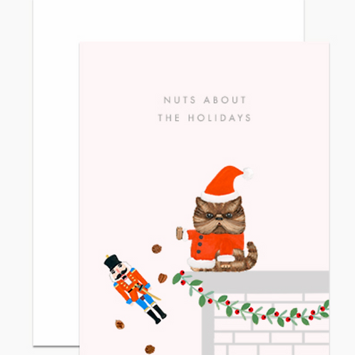 Dear Hancock Nuts About the Holidays Cards