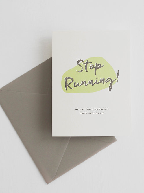 RPS | Stop Running