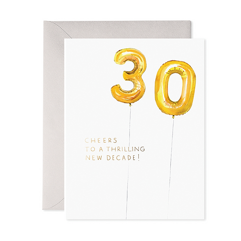 Helium 30 Birthday