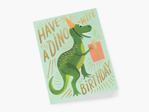 RIF Dino-mite Birthday
