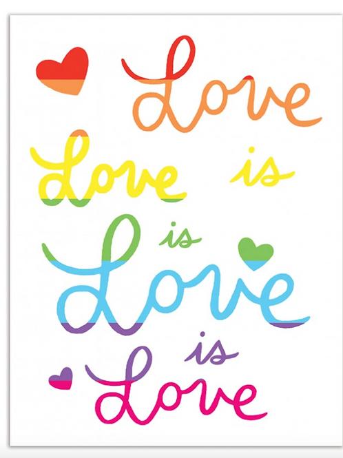 Love Is Love (rainbow)