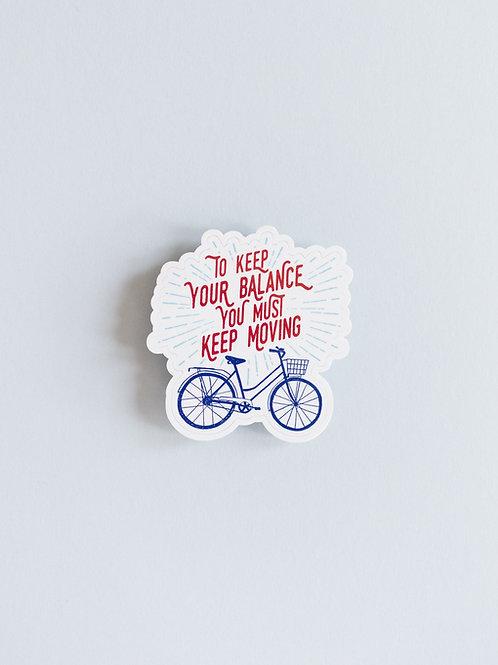 Bike Balance Sticker