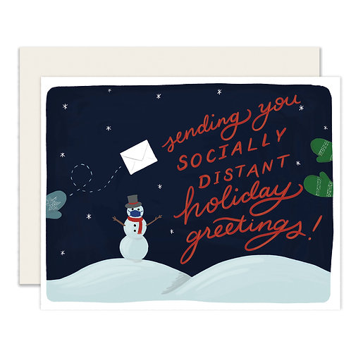 Socially Distant Holiday Greetings