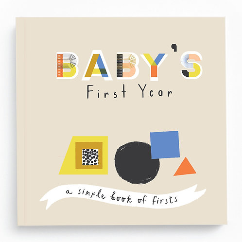 Baby Memory Book - Little Kaleidoscope