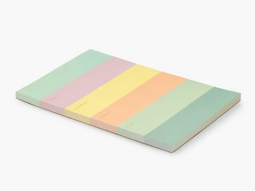 Rifle Paper Co. | Colorblock Large Memo Pad