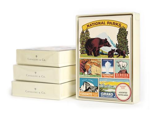 Cavallini | National Parks Notecard Set
