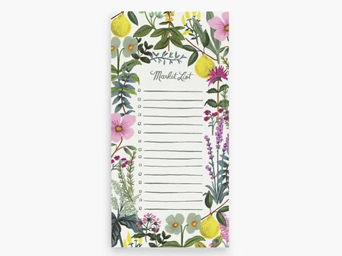Rifle Paper Co. | Herb Garden Market Shopping Pad with Magnet