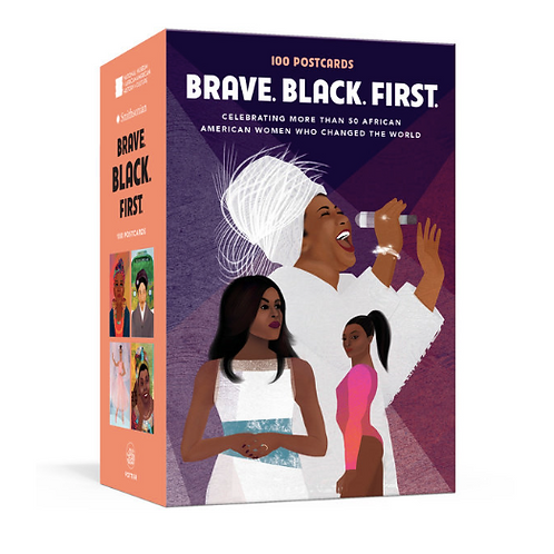 Brave, Black, First Postcard Set