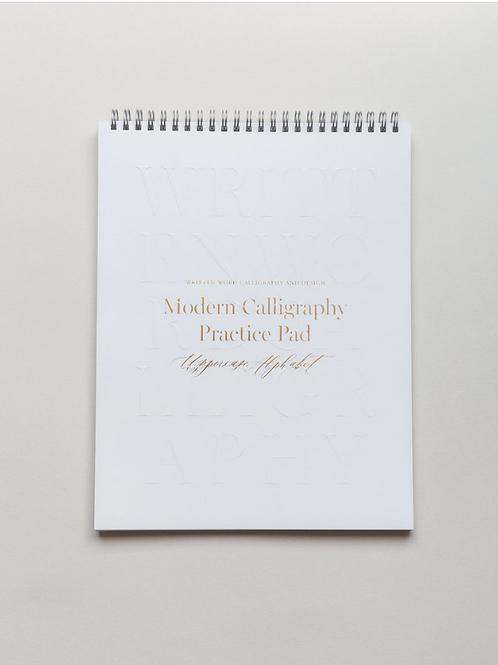 Written Word  |  Uppercase Calligraphy Practice Pad
