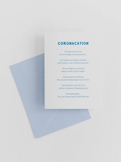 RPS | Coronacation Poem