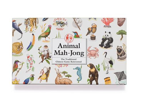 Illustrated Animal Mah-Jong Set