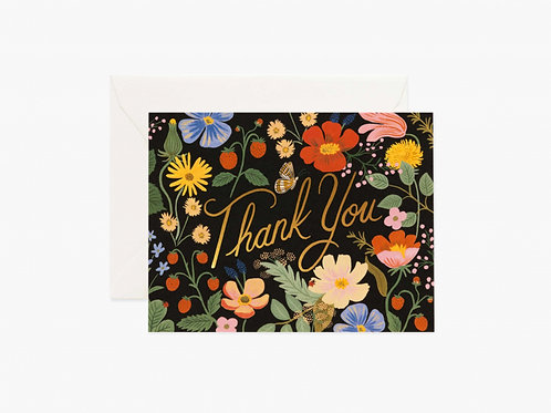 Rifle Paper Co. | Strawberry Fields Thank You Box Set