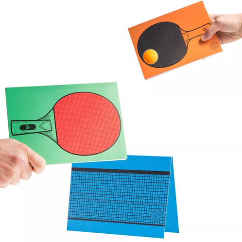 Table Tennis Notebook Set
