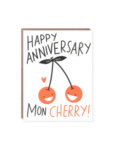 Happy Anniversary 'Mon Cherry'