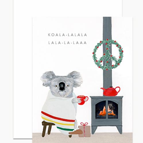Dear Hancock Koala-lala Holiday Cards