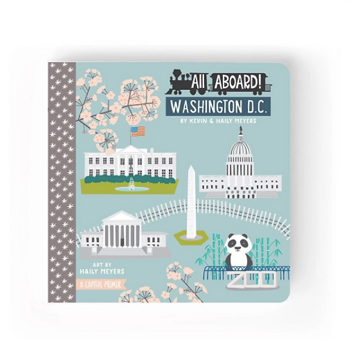 Lucy Darling | Washington D.C. Board Book