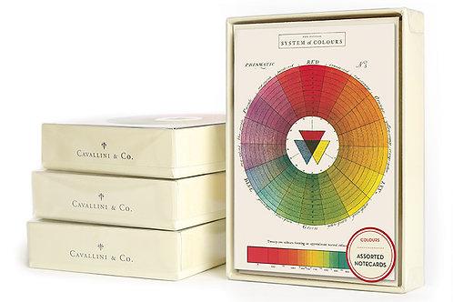 Cavallini | Colors Notecard Set