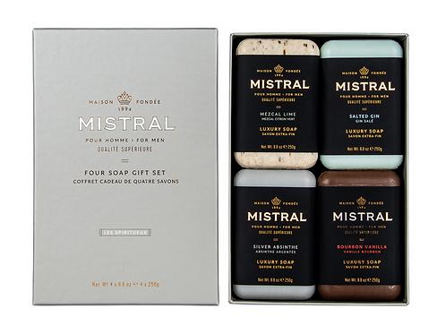 Mistral | Men's Four Soap Gift Set