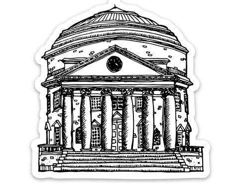Rotunda Sticker