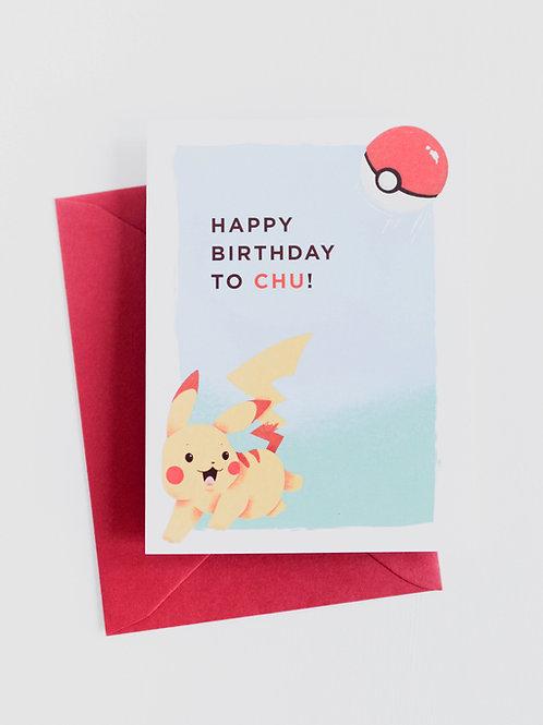 RPS | Pikachu Pokemon Birthday