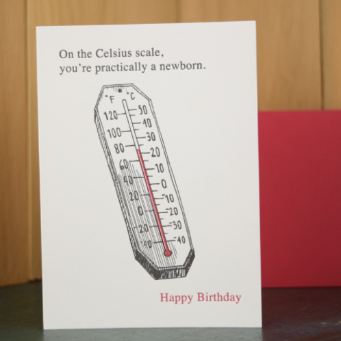 Celsius Birthday