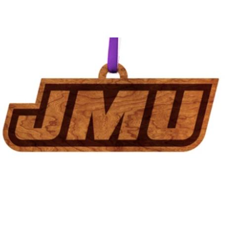 JMU Wooden Ornament