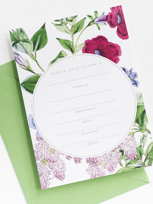 RPS| Fill-in-the-Blank Invitations