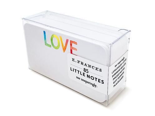 Tie Dye Love Little Notes