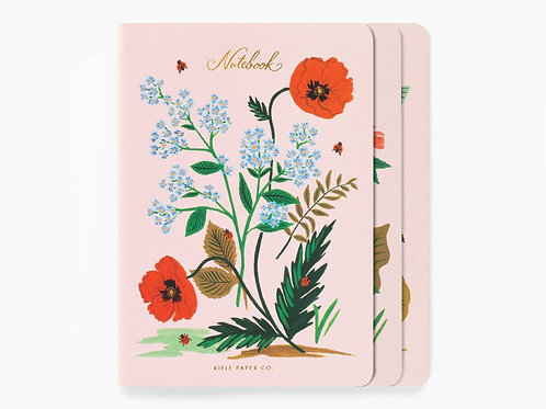 Rifle Paper Co. | Botanical Stitched Notebook Set