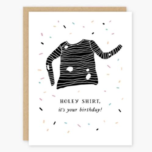 Holey Shirt Birthday