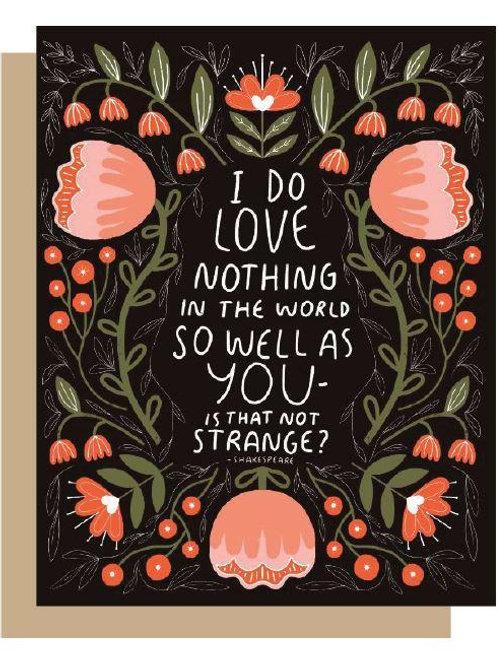 Shakespeare Love