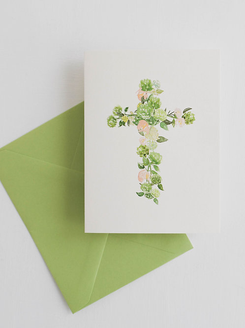 RPS | Floral Cross
