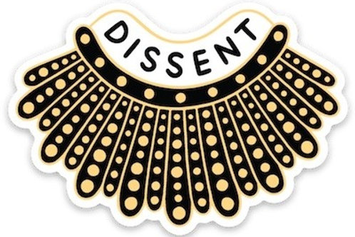 RBG Dissent Sticker