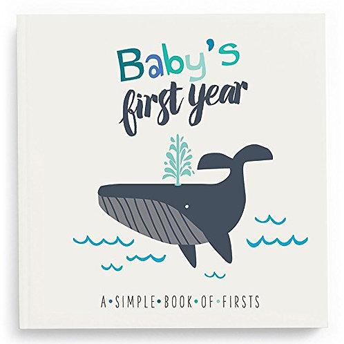 Baby Memory Book - Little Captain