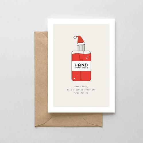 Hand Santa-tizer