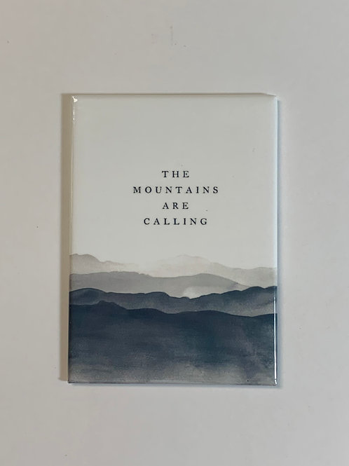 RPS | The Mountains Are Calling Magnet