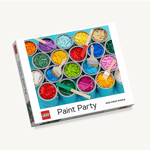 Lego Paint Party 1,000 Piece Puzzle