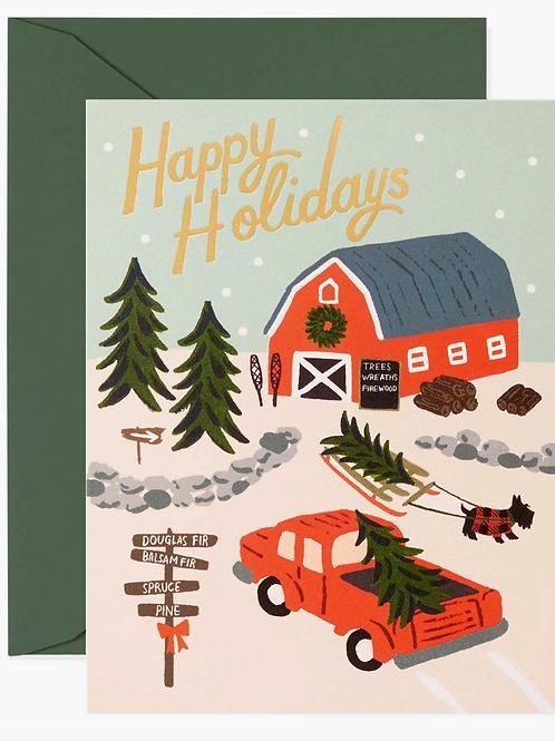 Rifle Paper Co.   Holiday Tree Farm Box Set